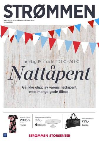 6aa460d0817a Nattåpent 15 mai by Strømmen Storsenter - issuu
