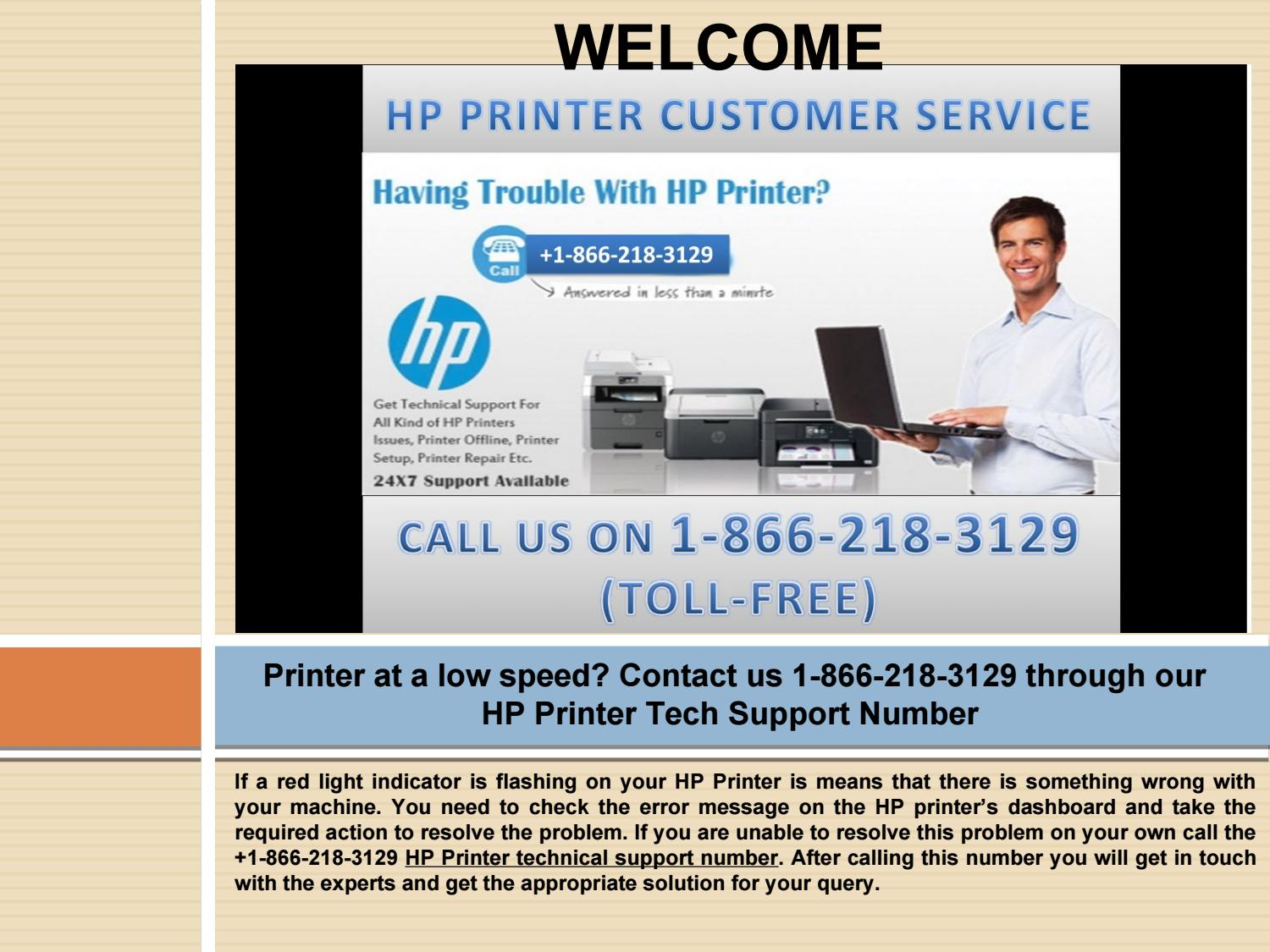 Contact us 1-866-218-3129 through our HP Printer Technical Support by  jemascatau - issuu