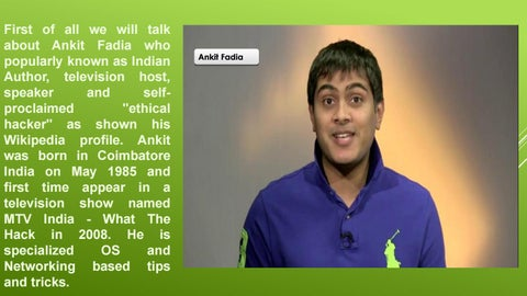 Indian top 10 ethical hackers from india by alkajacob17 - issuu