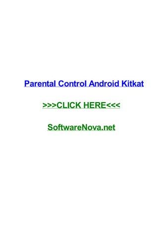 Parental control android kitkat by jenamka - issuu