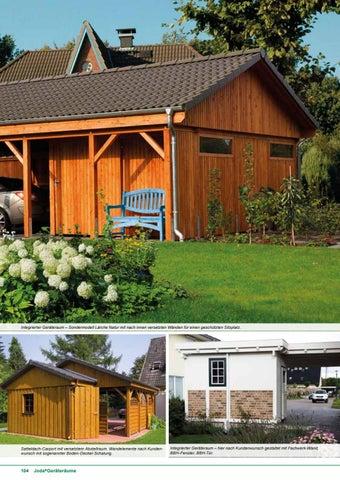 Joda Carports Gartenhauser By Kaiser Design Issuu