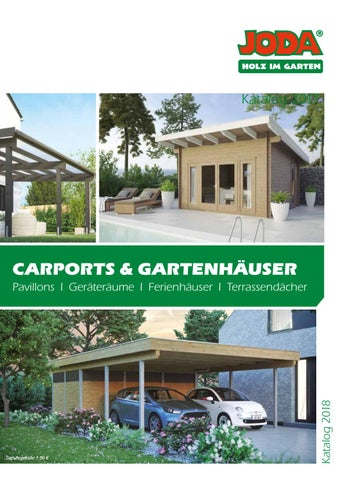Joda   Carports U0026 Gartenhäuser By Kaiser Design   Issuu