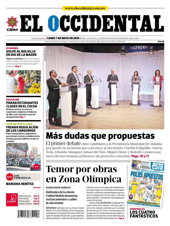 Portada | Edición digital by EL OCCIDENTAL - issuu