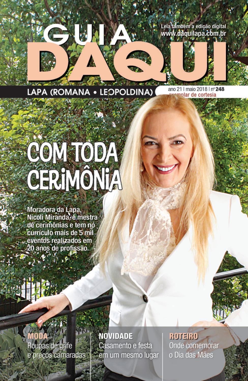 40425f6edc80b Daqui Lapa Leopoldina – Edição 248 – Maio de 2018 by Página Editora e  Jornalismo - issuu