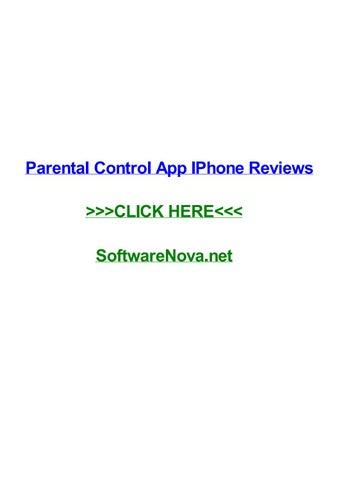 Iphone parental monitoring reviews