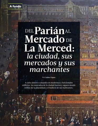 Page 12 of Del Parián al Mercado de La Merced: la ciudad, sus mercados y marchantes