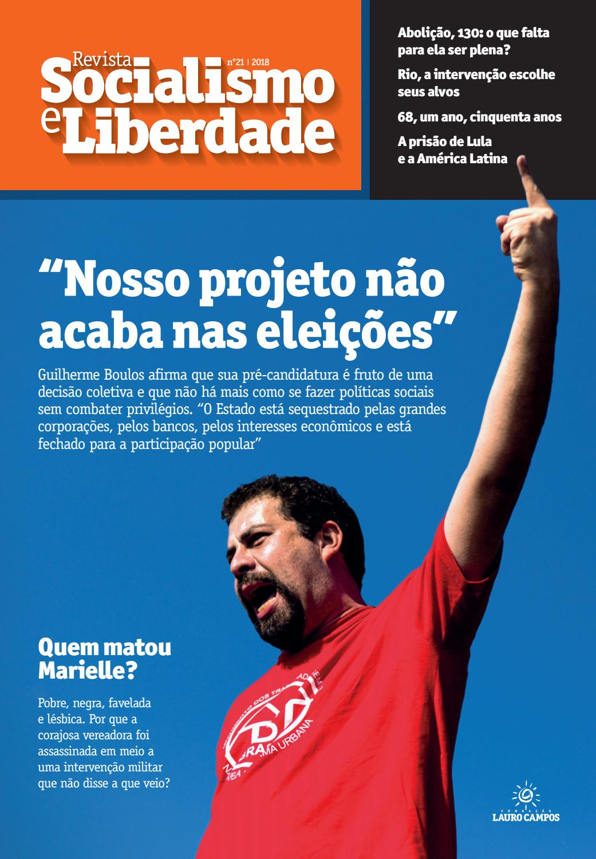 be74e3f53ed3e Revista nº 21   SOCIALISMO E LIBERDADE   2018 by Fundação Lauro Campos -  issuu