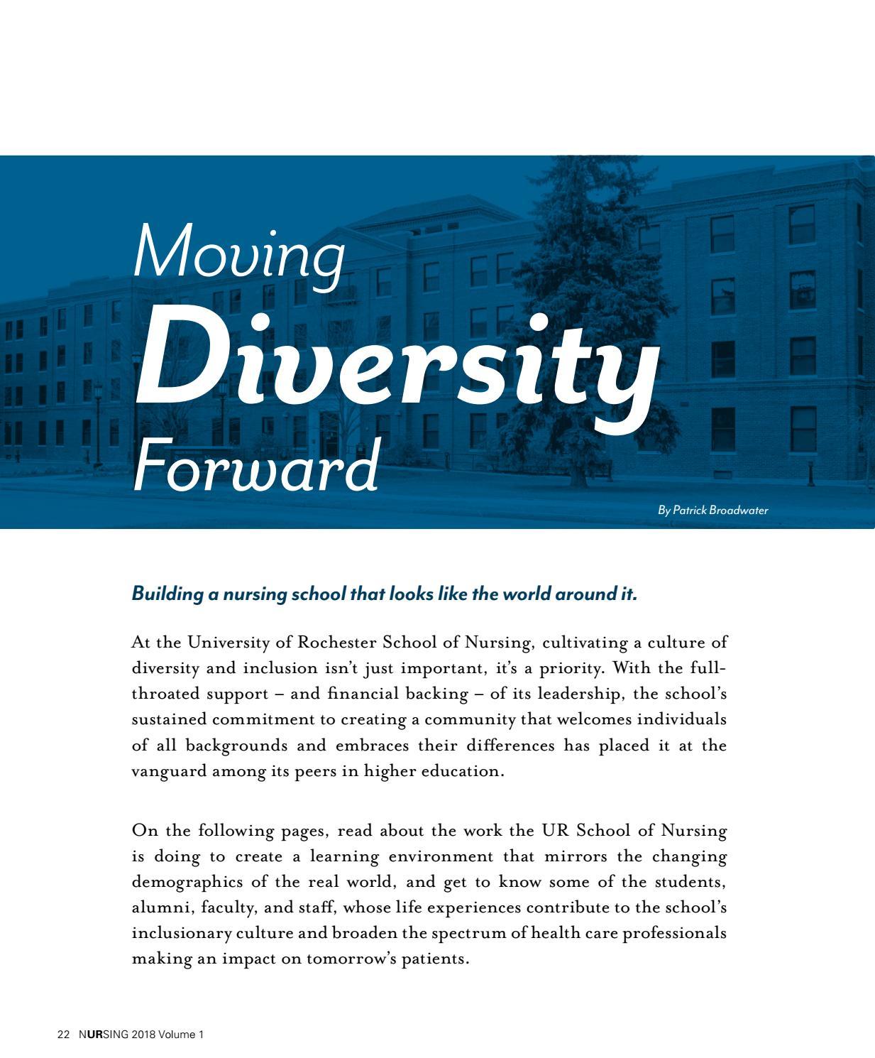 University Of Rochester School Of Nursing >> Nursing Magazine 2018 Volume 1 By University Of Rochester