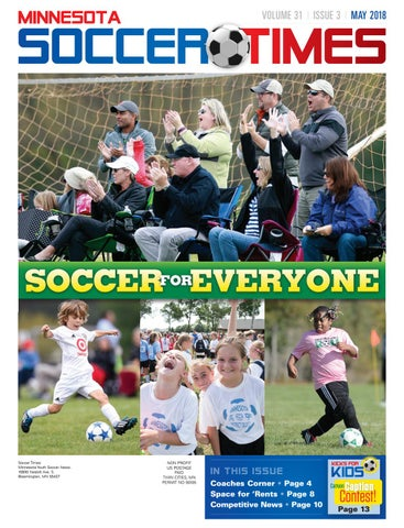 ea8de607d73720 VOLUME 31VolumeISSUE MAY 30 Issue 3 2 March 20172018. MINNESOTA. SOCCER  TIMES
