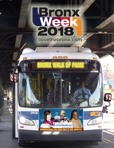 Bronx Week 2018 Calendar of Events by The Bronx Tourism