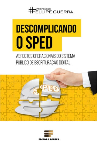 9ffda941a4 ebook) Descomplicando o SPED - Aspectos Operacionais do Sistema ...