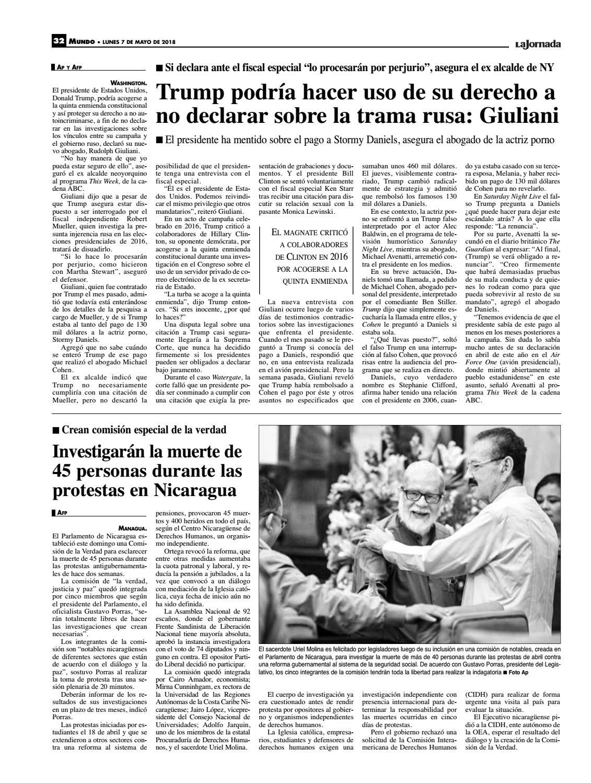 Actor Porno En Parlamento la jornada, 05/07/2018la jornada - issuu