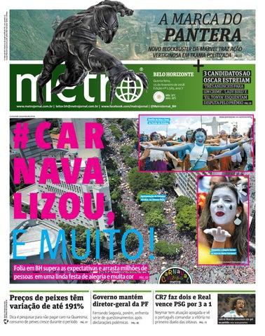 0d04dc1d90 Jornal Metrô Belo Horizonte Nº 1565 by Portal Academia do Samba - issuu