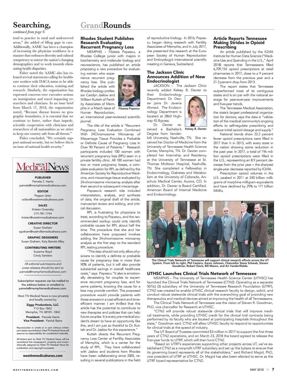 May 2018 WTMN by Medical News - issuu
