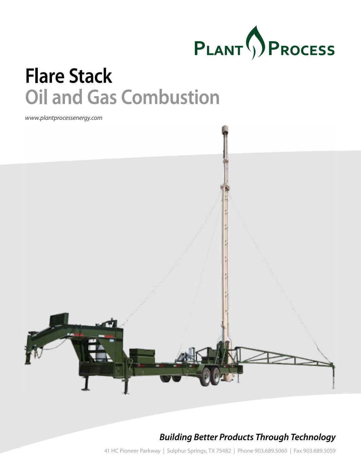 Flare Stack by Plant Process - issuu