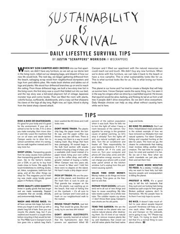 Page 15 of Sustainability is Survival