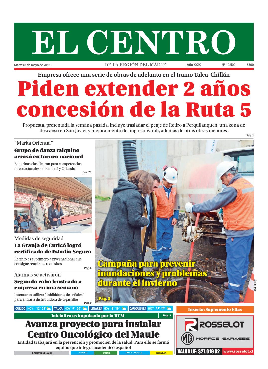 db50fe8fd Diario 08 05 2018 by Diario El Centro S.A - issuu