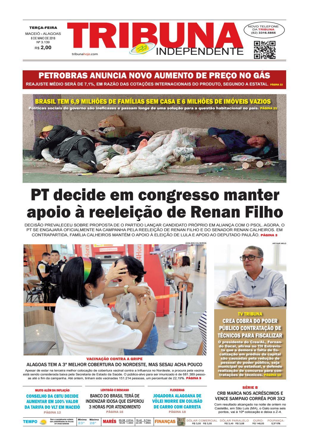 7ea7df2ea87 Edição número 3139 - 8 de maio de 2018 by Tribuna Hoje - issuu