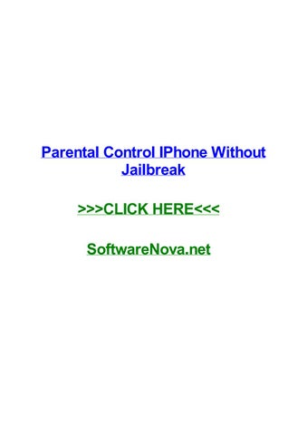 Parental control iphone without jailbreak by dustindzfn - issuu