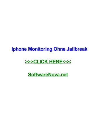 iphone spyware ohne jailbreak