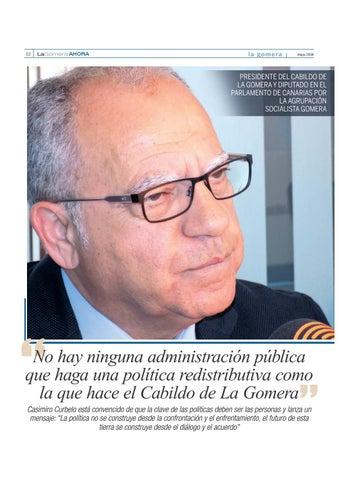 Page 26 of Casimiro Curbelo, presidente del Cabildo de La Gomera y diputado en el Parlamento de Canarias por la Agrupación Socialista Gomera