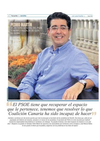 Page 6 of Un año para las elecciones: Pedro Martín, secretario insular del PSOE