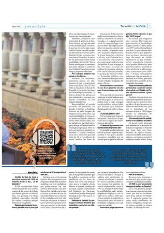 Page 7 of Un año para las elecciones: Pedro Martín, secretario insular del PSOE