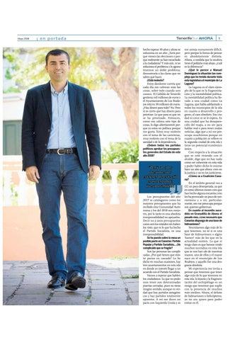 Page 9 of Un año para las elecciones: Manuel Domínguez, secretario insular del Partido Popular