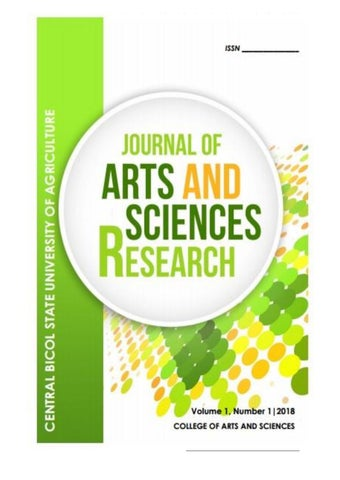 Journal of Arts and Sciences Research by Richard Gavina Castor - issuu