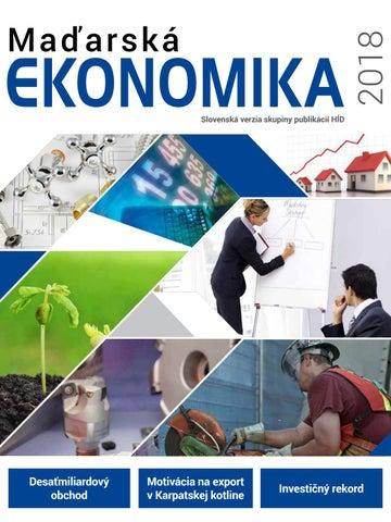 261a8bbdb Madarska ekonomika 2018 by Feliciter Kft. - issuu