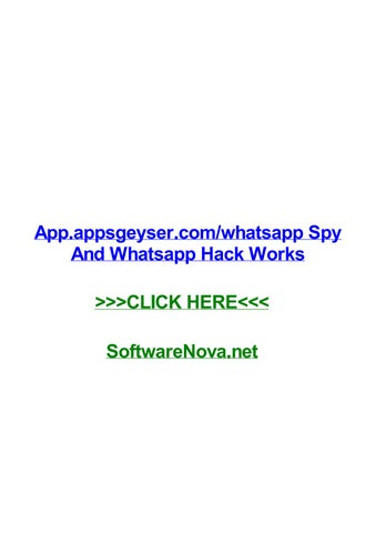 App appsgeyser comwhatsapp spy and whatsapp hack works by