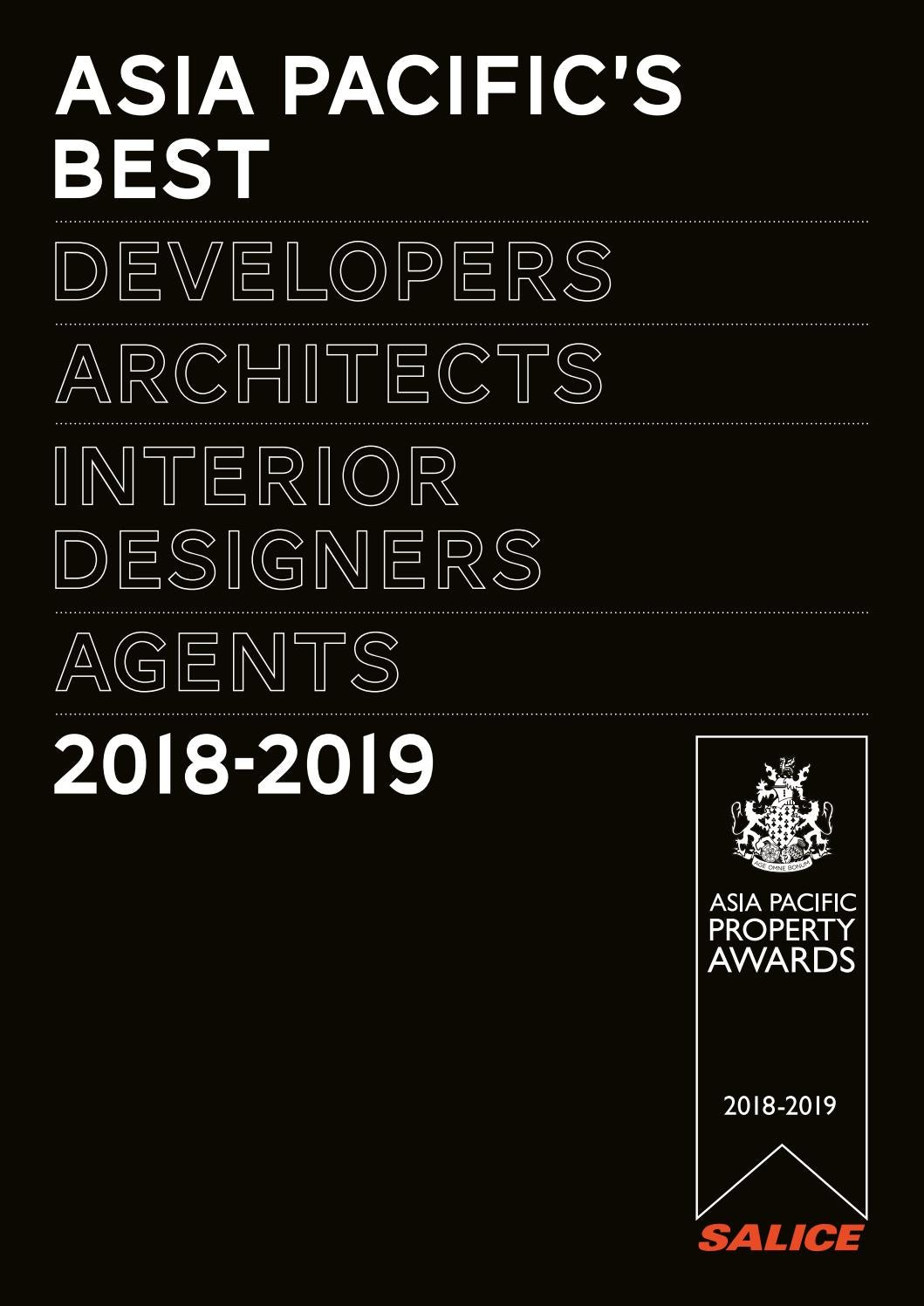 Asia pacific 39 s best 2018 2019 by international property for International decor surfaces