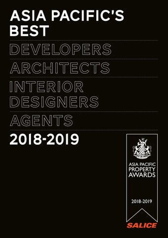 Asia Pacific's Best 2018-2019 by International Property