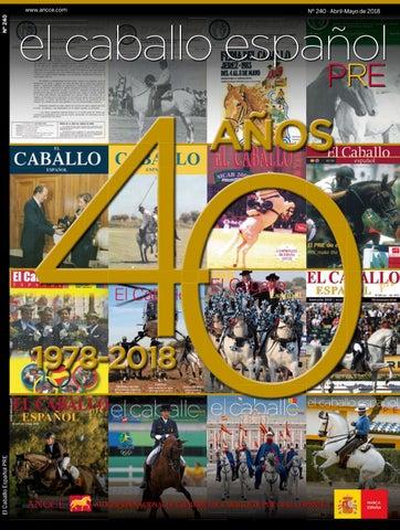 Revista El Caballo Español 2018 n.240 by Revista El Caballo Español ...