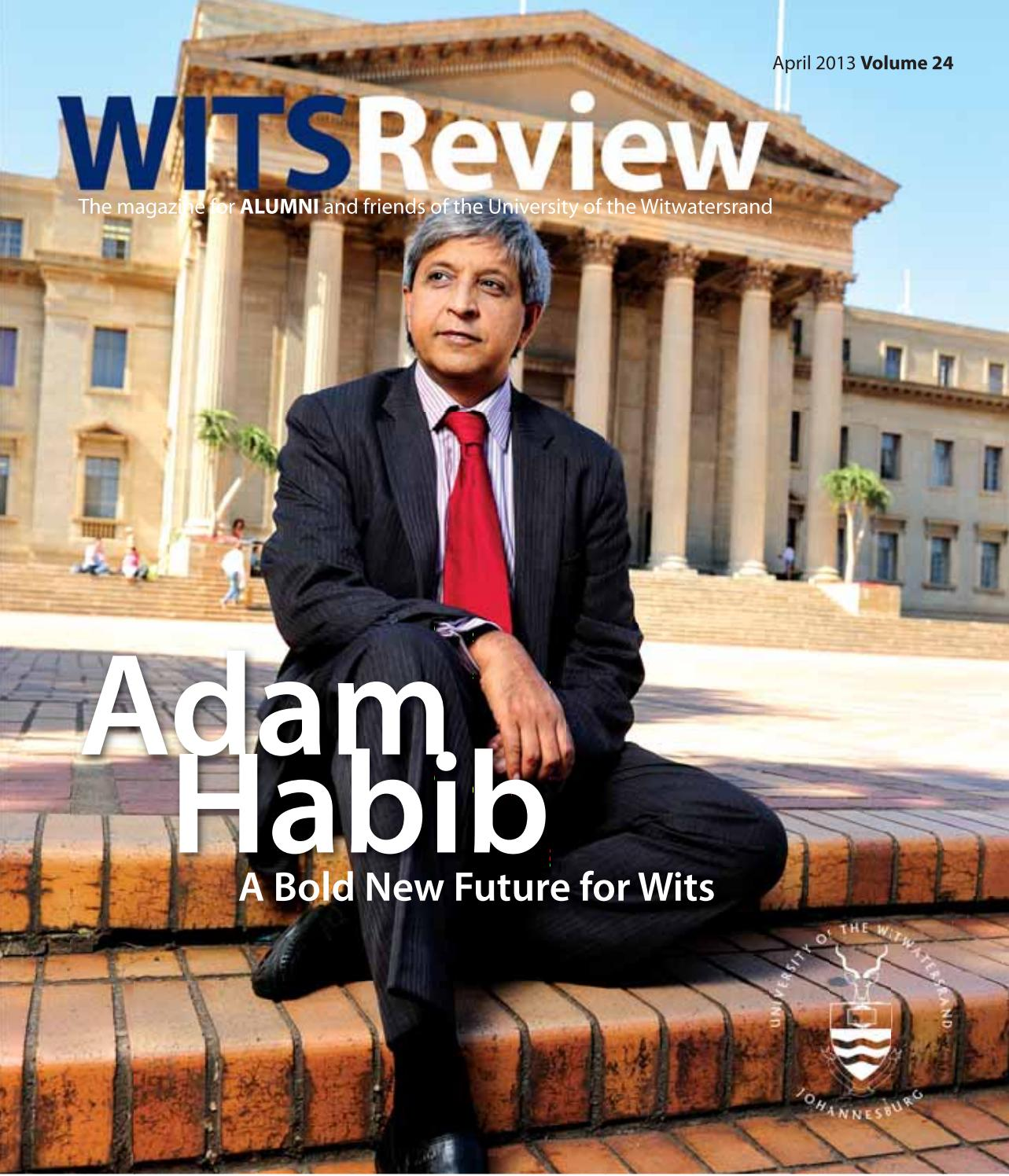 Wits Review April 2013 by Wits Alumni Relations - issuu