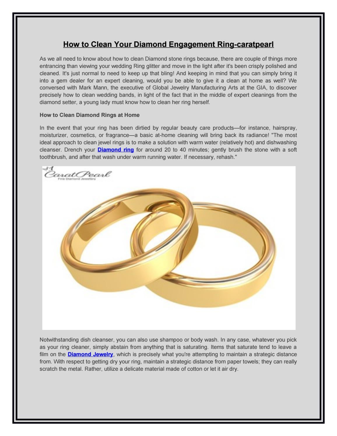 Diamond Ring Diamond Jewelry Caratpearl By Caratpearl Jewellery Issuu