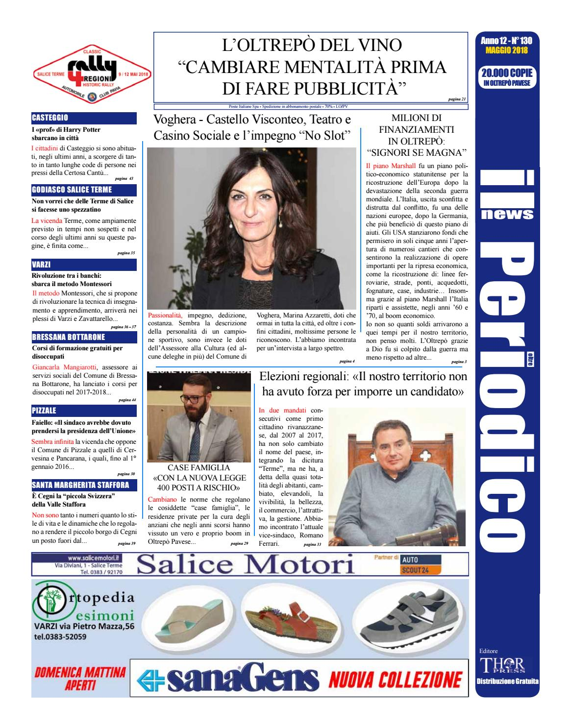 Il Periodico News - MAGGIO 2018 N°130 by IlPeriodicoNews - issuu 5590733ff1c