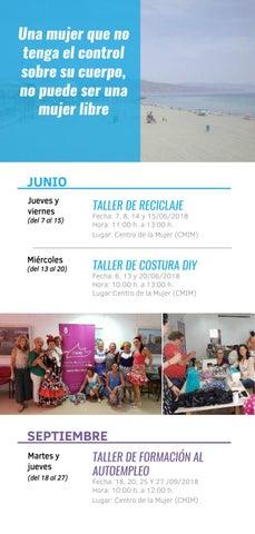 Programa Centro Mujer By Ayuntamiento Roquetas De Mar Issuu