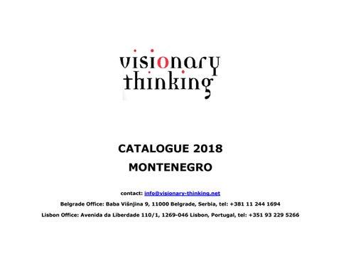 16808e0c0f2e4 Visionary Thinking Catalogue, Montenegro 2018 by Dragan Petrovic - issuu