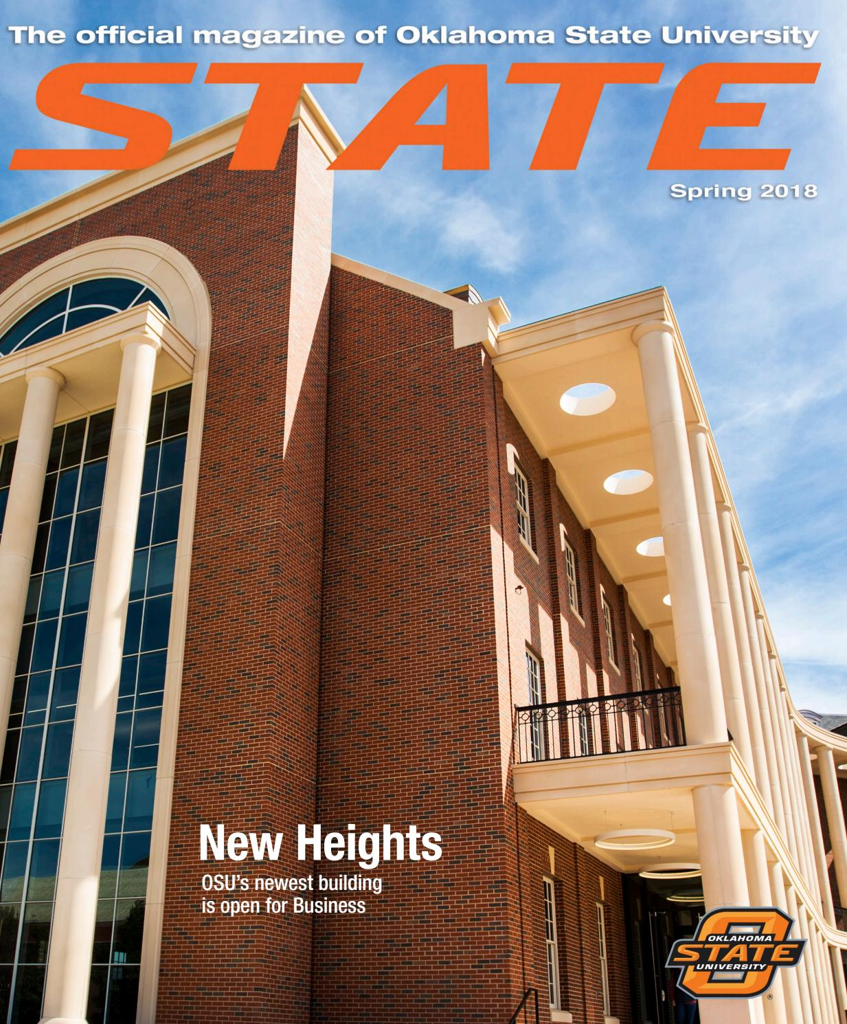 State Magazine Spring 2018 By Oklahoma State Issuu