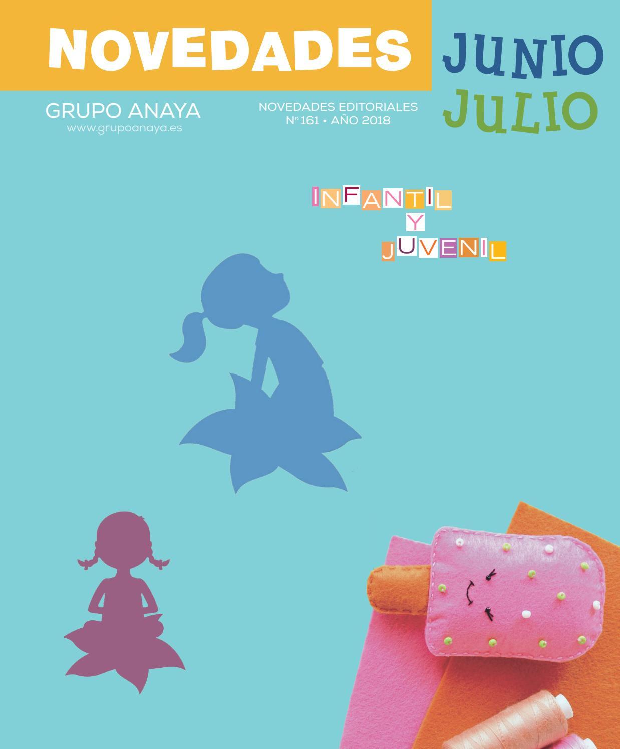 Novedades Infantil y Juvenil. Junio - Julio 2018 by Grupo