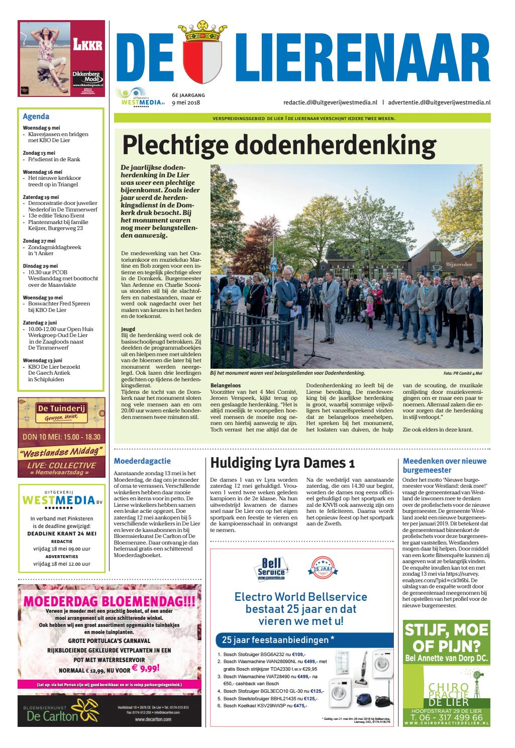 Kleurplaten Voetbal Lierse.Dl 2018 05 09 By Wl Media Issuu