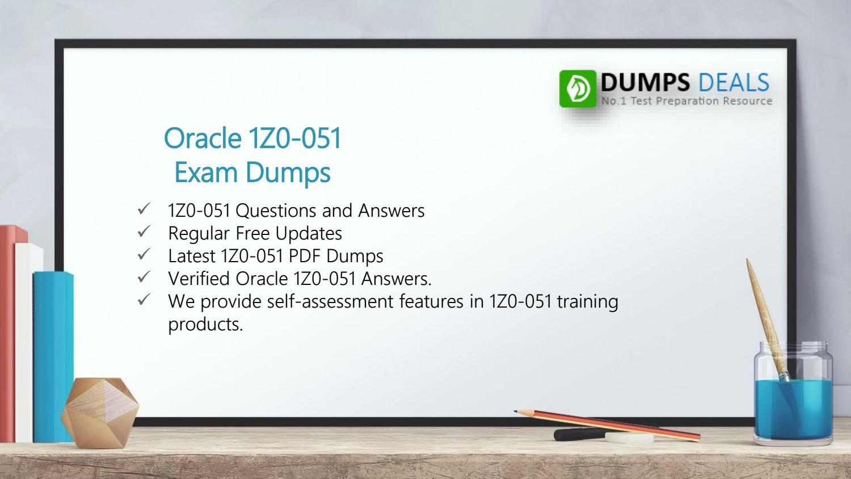 1z0-051 pdf oracle dumps