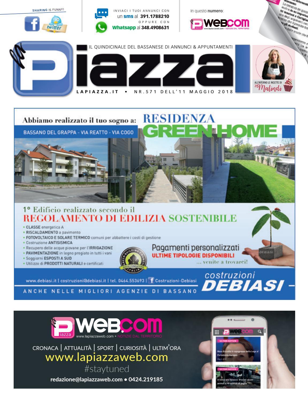 new concept 88489 4f1fd la Piazza di Bassano 571 by la Piazza di Cavazzin Daniele - issuu