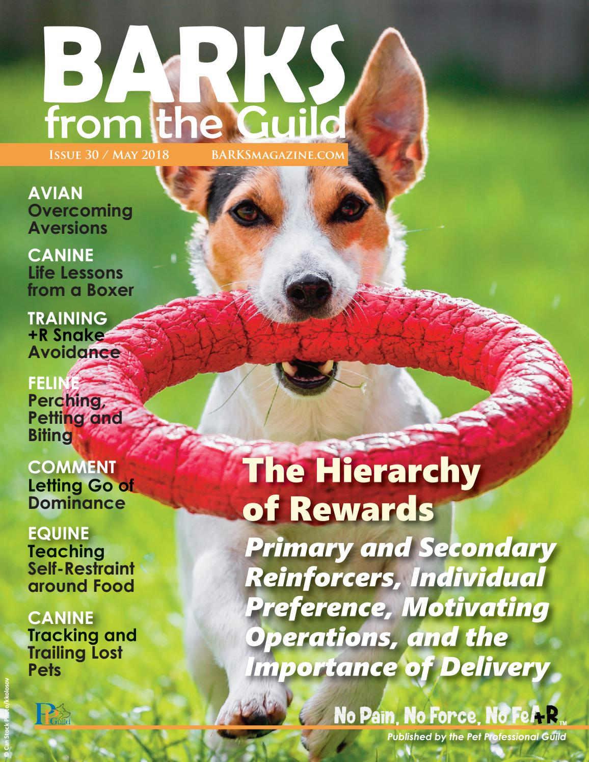 BARKS from the Guild May 2018 by The Pet Professional Guild - issuu
