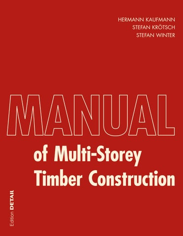 Manual of Multistorey Timber Construction by DETAIL - issuu