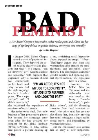Page 20 of Cover Girl Saloni Chopra