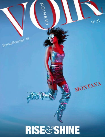 3eae338d44 Voir Fashion Issue 21   Rise   Shine ft Montana Rose Brown by Voir ...