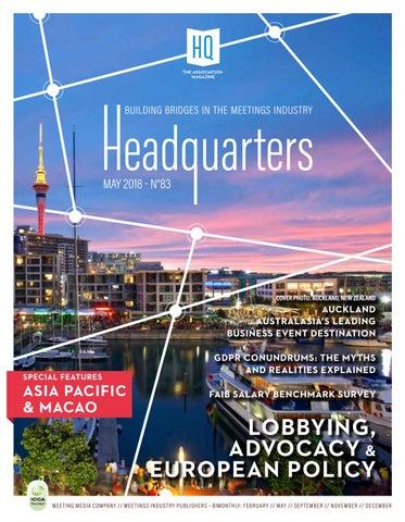 HeadQuarters Magazine IMEX Edition - talks about CBItalia / PR by