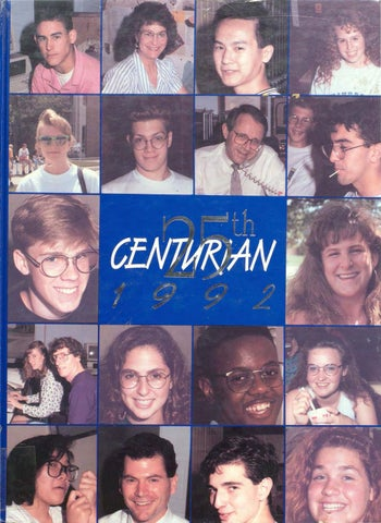 The Centurian Yearbook 1992 by Centurian Archives - issuu 74ca8d239